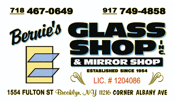 Bernie's Glass Shop Inc. & Mirror Shop